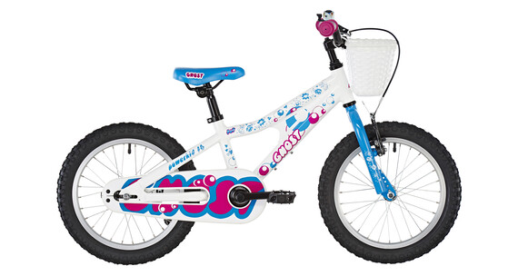 Ghost Powerkid AL 16 - Vélo enfant - bleu/blanc